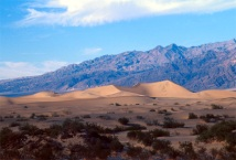 Death Valley dunes.