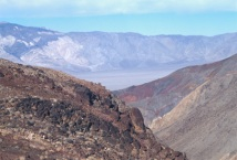 Death Valley landscape.