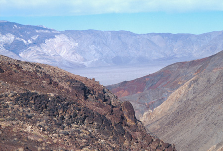 Death Valley landscape.