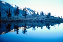 Mirror Lake, California.