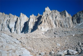 Mount Whitney peak.