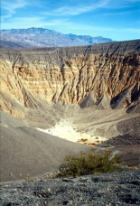 Ubehebe Crater, Death Valley.