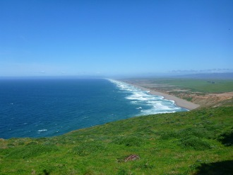 The Great Beach at Point Reyes.