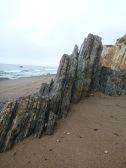 More vertical rocks.